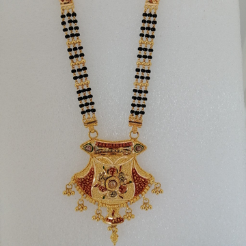 916 gold kalkatti design mangalsutra by Vinayak Gold