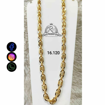 22 Carat Gold Gents Chain RH-CH770