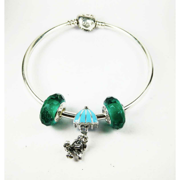 New 925 Silver Ladies Kada Bracelet