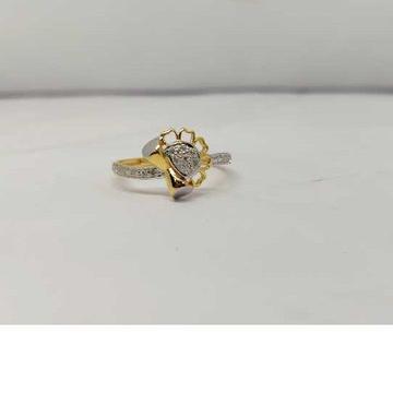 22k Ladies Fancy Gold Ring Lr-17098