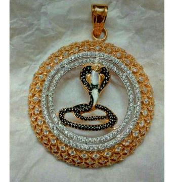 22kt Gold Snake Shape Pendant