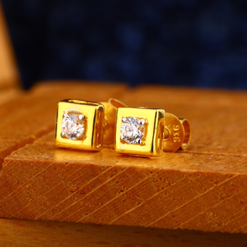 916 gold mens stylish earrings me 19