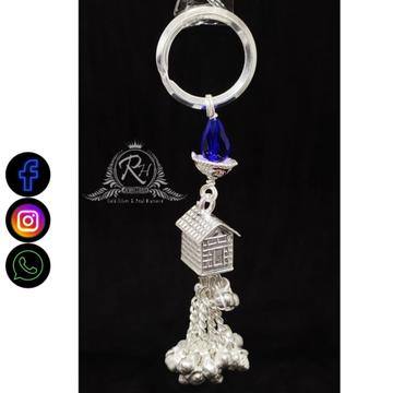 silver traditional keychain RH-KC359