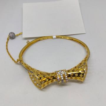 22K Damru design gold bracelet