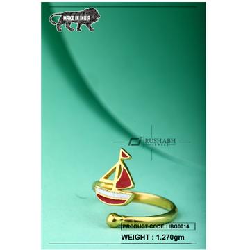 18 carat gold Kids ring stimber ibg0014 by