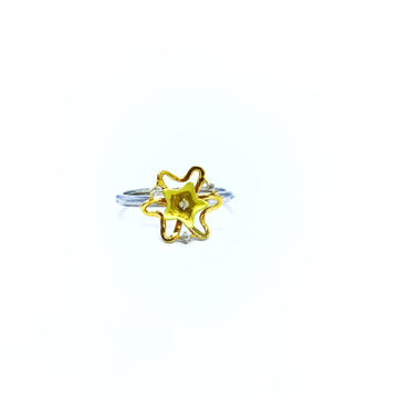 REAL DIAMOND FANCY STAR RING by