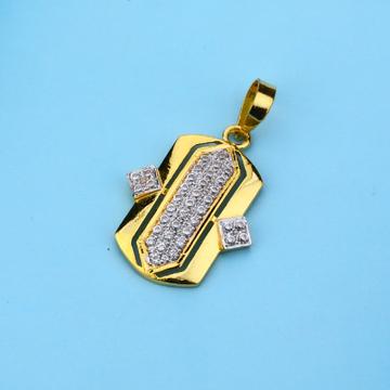 916 Gold Cz Hallmark Diamond Pendant LFP23