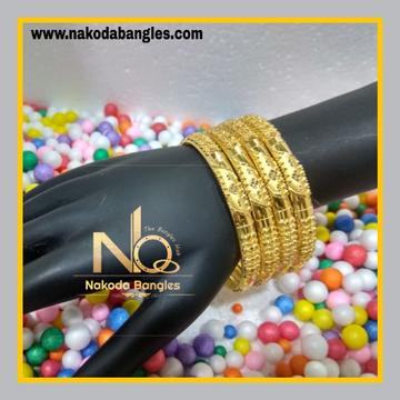 916 Gold Patra Bangles NB - 614