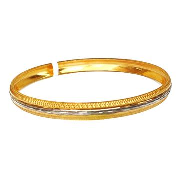 One gram gold forming modern kada bracelet mga - bre0092
