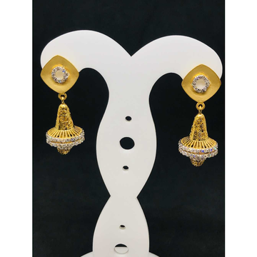 916 Ladies Fancy Gold Earring Er-60042