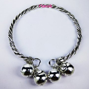 92.5 sterling silver oxidize Kada bracelet ML-81