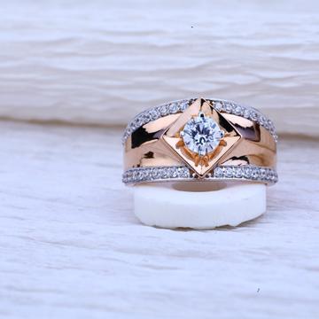 750 Rose Gold Hallmark Ring RMR45