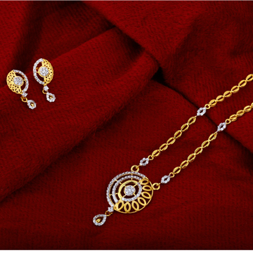 916 Gold Exclusive Hallmark Chain Necklace CN15