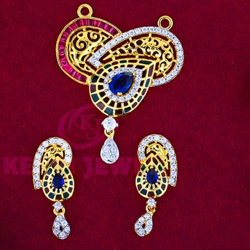 916 Gold Mangalsutra Pendal with Butti MSP-011