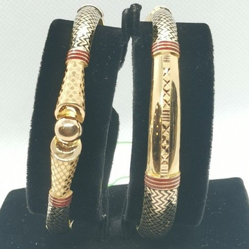 Zig Zag Meena Bangle