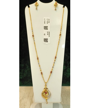 916 gold Hallmark Classic Pendant Set