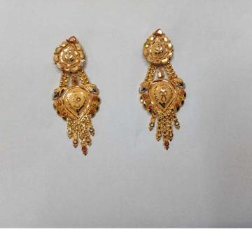 Modern  18KT Gold Earrings