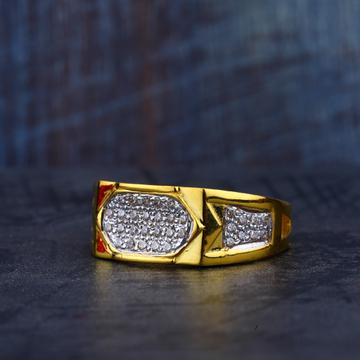Mens Gold 22K Ring-MR178