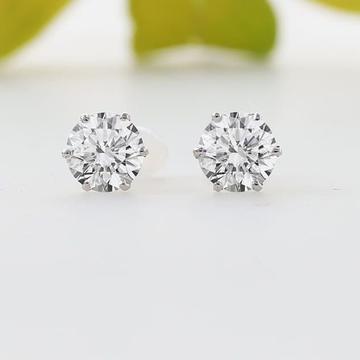 22 ct gold earrings single diamond
