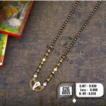 916 Gold CZ Mangalsutra CZG-0055