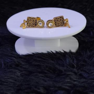 22KT/916 Yellow Gold Eirwen Earrings For Women