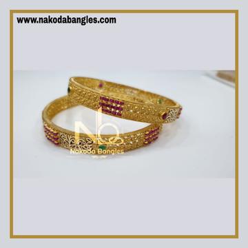 916 Gold Chakri Bangles NB - 859