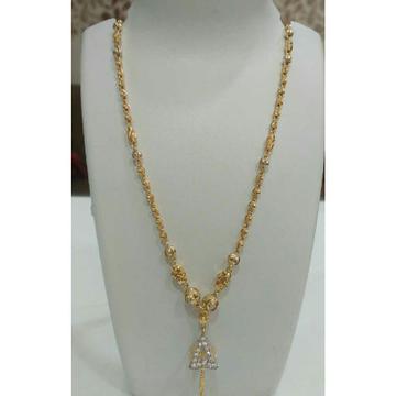22 K Gold Exclusive Pendant Chain NJ-P073