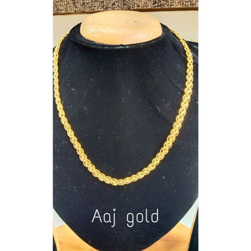22 kt gold fancy Holo chain by Aaj Gold Palace