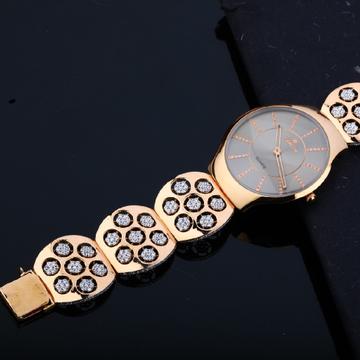 Mens Rose Gold 18K Designer Valentine Dial Watch-RMW03