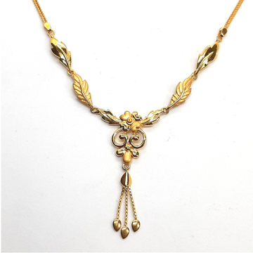 22KT Gold Necklace SK-N006 by