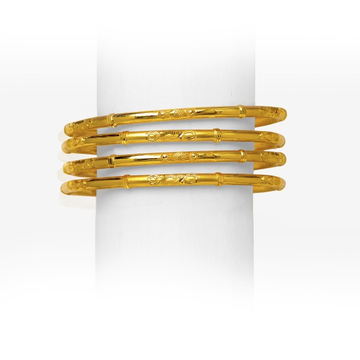 916 ELEGANT GOLD COPPER KADLI BANGLE