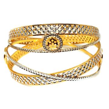 One gram gold forming bangles mga - gf0031