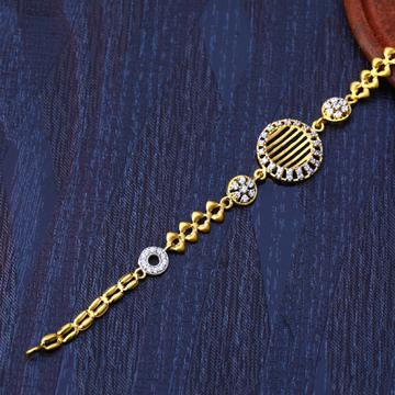 22ct Gold Fancy Designer Bracelet LB209