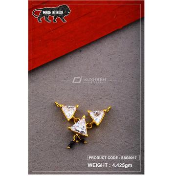 22 Carat 916 Gold Ladies singal stone msp smg0017