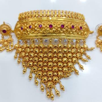 Ramleela traditional choker set 916 by Parshwa Jewellers