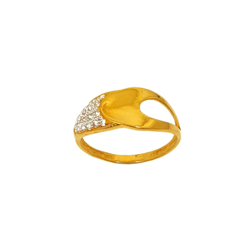 22K Gold Modern Ring MGA - LRG0171