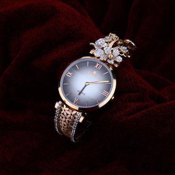 Ladies Rose Gold 18K Watch-RLW65