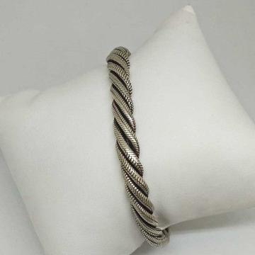 925 Sterling Silver Oxides Casual Gents Bracelet