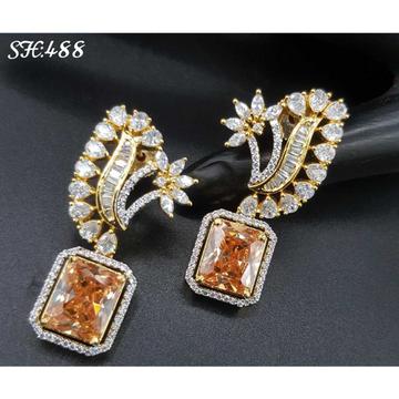 Cz earrings#1053