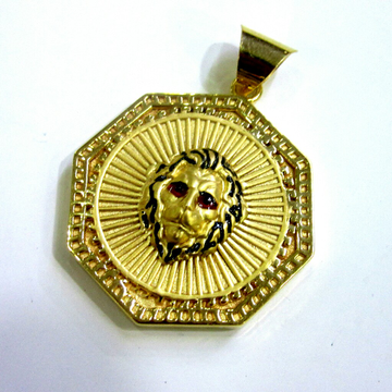 Gold 22k 916 Hollow Tiger Pendent by
