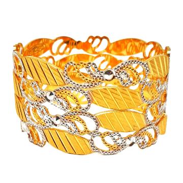 1 gram gold forming fancy bangles mga - bge0310