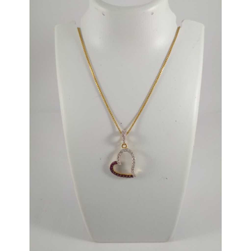 22 K Gold Pendant Chain NJ-P0110