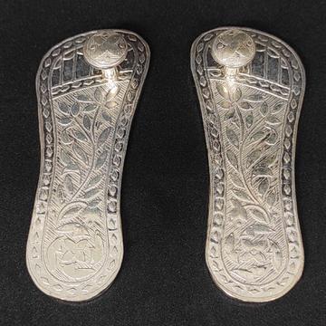 silver Charan Paduka by