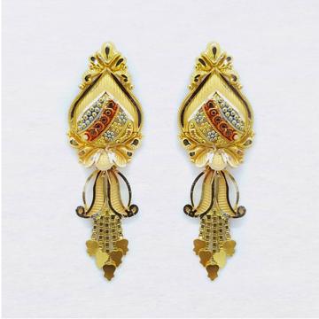 Buy hallmark gold earring online at sonarka.com in... by