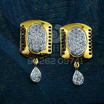 18kt Crafted Cz Gold Ladies Tops ATG -0713