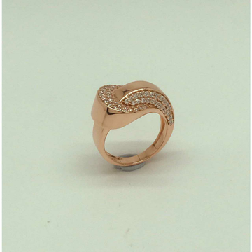 Micro Dimond Golden Finish Ring Ms- 4049 by