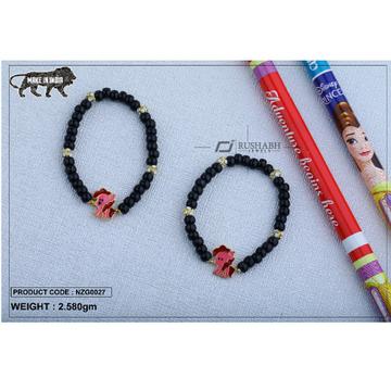 18 carat gold Kids nazariya elastic dog nzg0027
