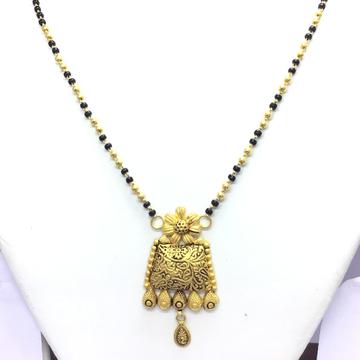 DESIGNED ANTIQUE FANCY GOLD MANGALSUTRA
