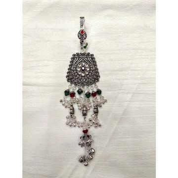 Handmade Oxodize Pearl(Moti) Gungi(Mungi) Ghughri Single Aakadiya Rajkoti Antique Juda Ms-2353
