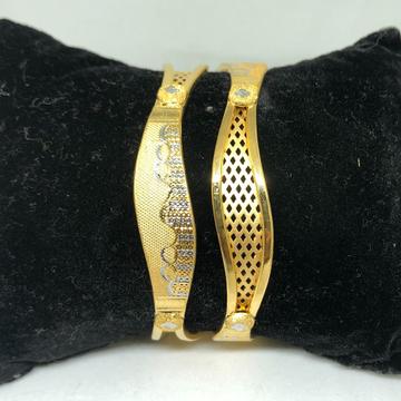 22KT Gold  Designer Copper Kadli VN-B04